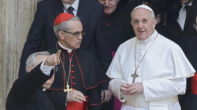 El Papa con Santos-Abril, dicen que posible Secretario de Estado