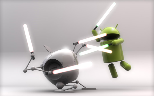 Neothone.es - Android vs iOS War