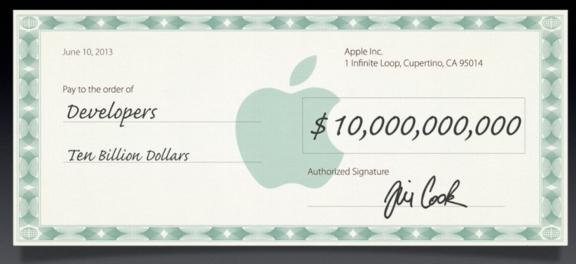 Pagos a Desarrolladores - Apple